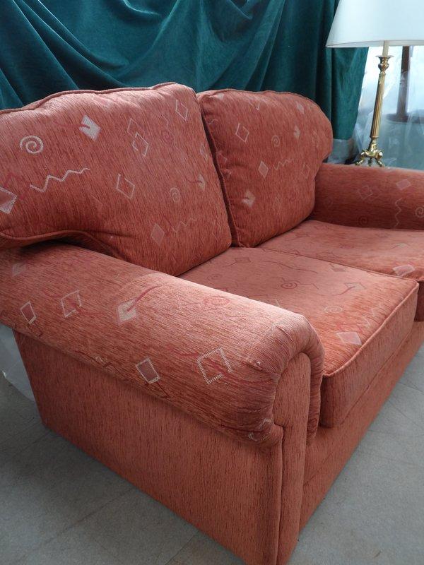 Terracotta Sofa