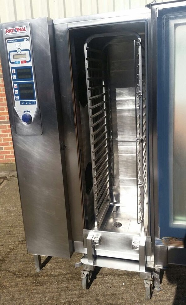 Rational CPC 20 Grid Electric Combi Oven with Trolley