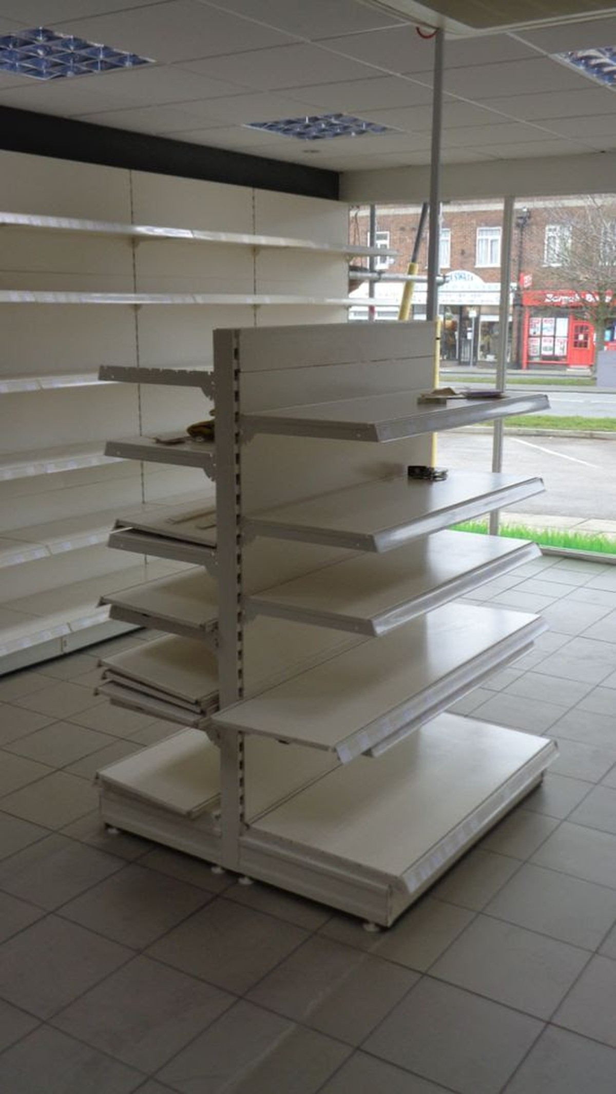 Secondhand Shop Equipment Shelving Shop Shelving