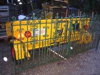 Original Solid Wrought Iron Gates