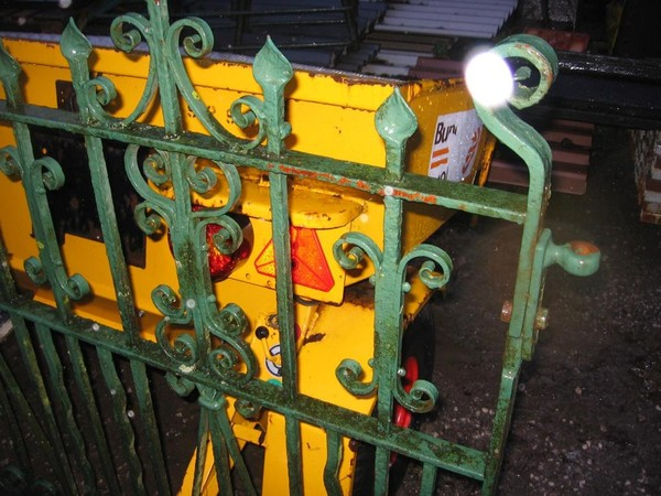 Original Solid Wrought Iron Gates