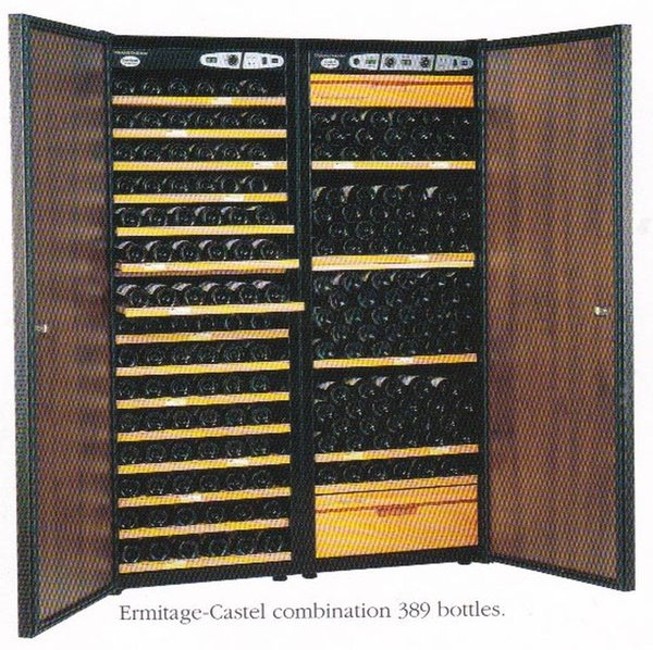 Two Transtherm Wine Storage Units