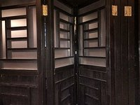 wooden concertina doors