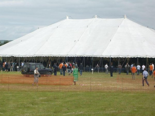 Big Top Festival Marquee
