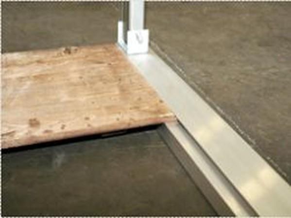 Buy Used Tectonics Wood Floor For Oriental 6x6