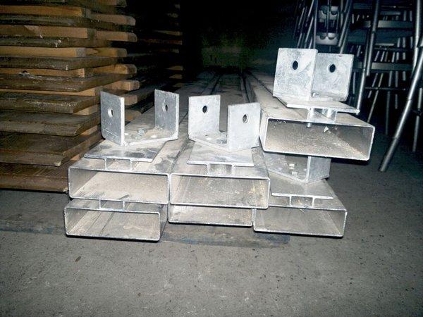 Used Tectonics Wood Floor For Oriental 6x6 for sale