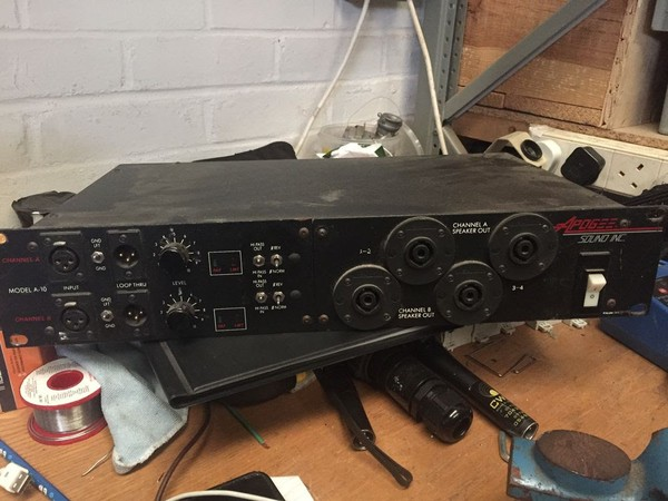 Apogee AE10 Subs with Processor