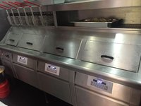 Hopkins Wall Frying Range