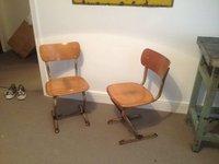 Cantilever 1940's Café chairs