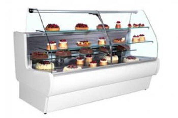 Frilixa Tejo Range Patisserie Display Counters