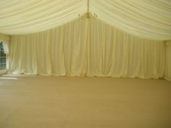 Custom Covers 25m Dividing Curtain (Reveal) Mid Ivory