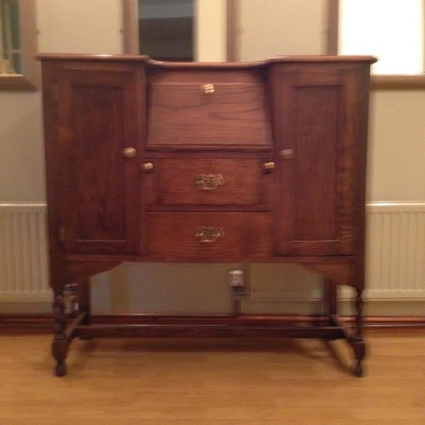 Antique Georgian Writing Desk - North Wales