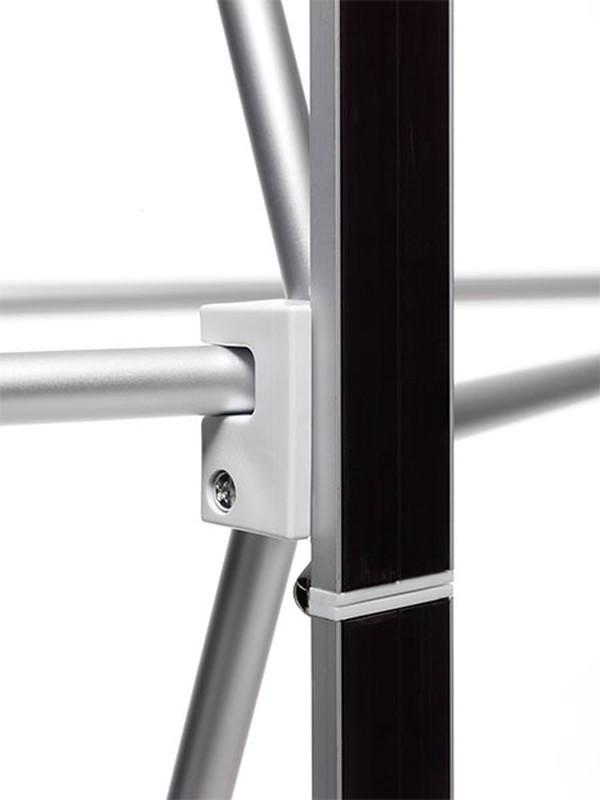 Aluminium pop up stands