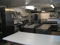 Contents of a commercial kitchen