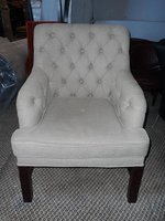 Classic buttoned chair