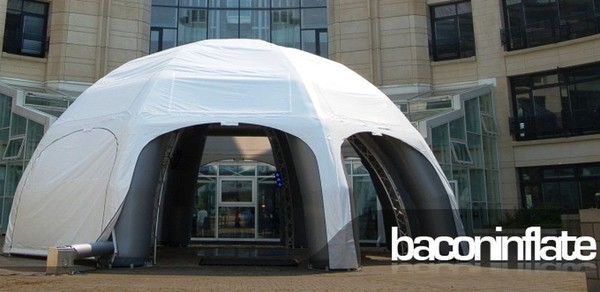 Inflatable dome marquee 6m