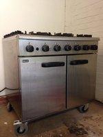LPG six burner oven