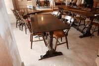Wooden pub or dining tables