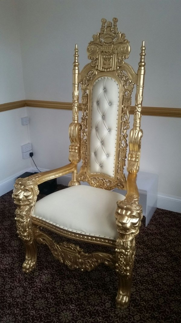Crown Chair / Throne Chair