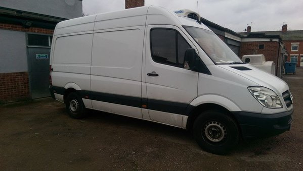 Refrigerated Mercedes-Benz sprinter
