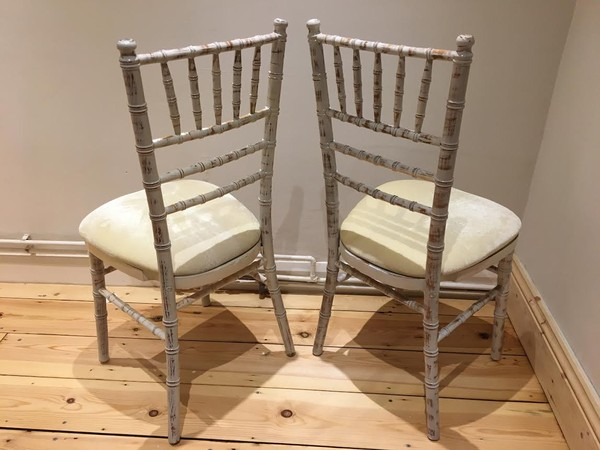Limewash chivari banqueting chairs ideal for wedding