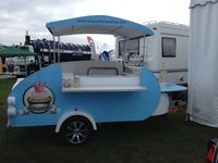 Pop Up Teardrop Trailer Shop