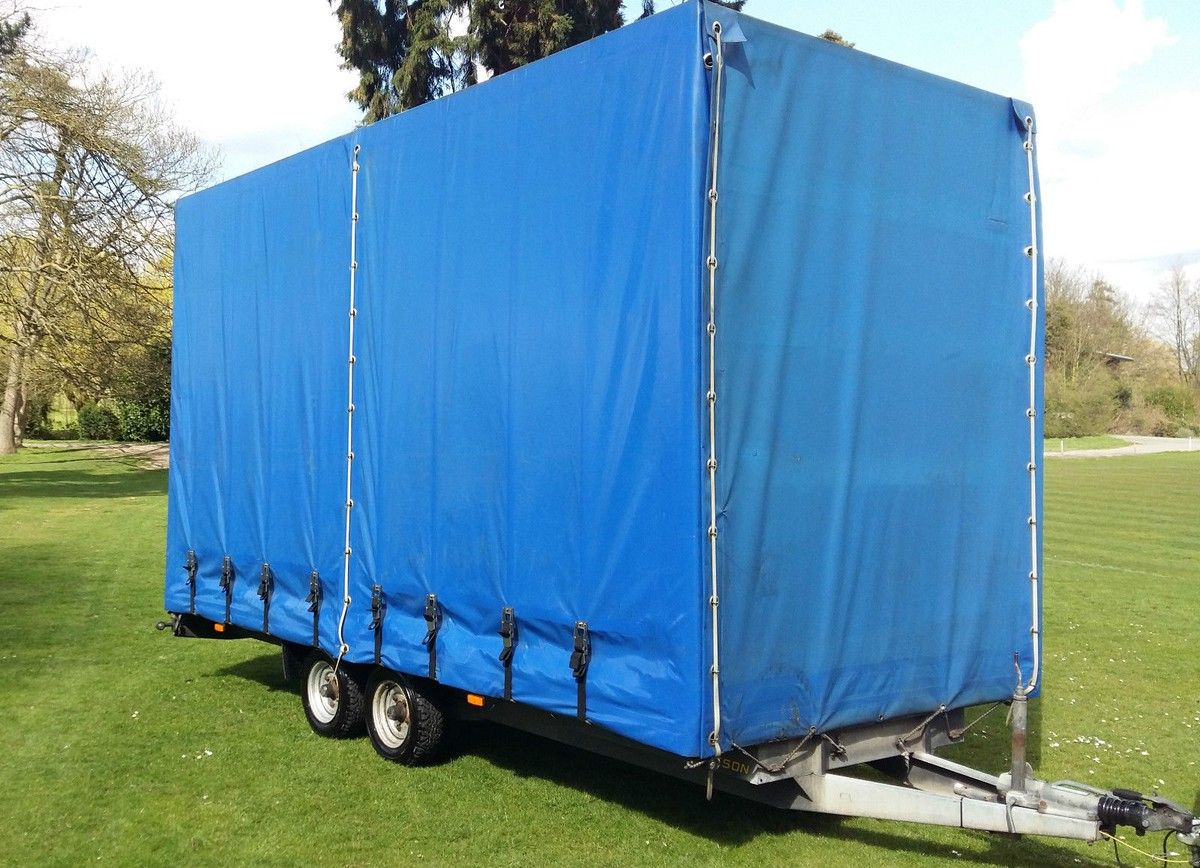 Curtain Sided Bateson Box Trailer