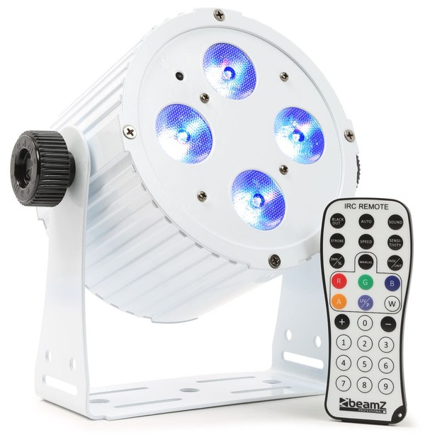 White Aluminum LED Spot