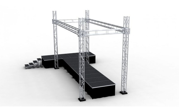 Complete Exhibition Tri Truss Stand