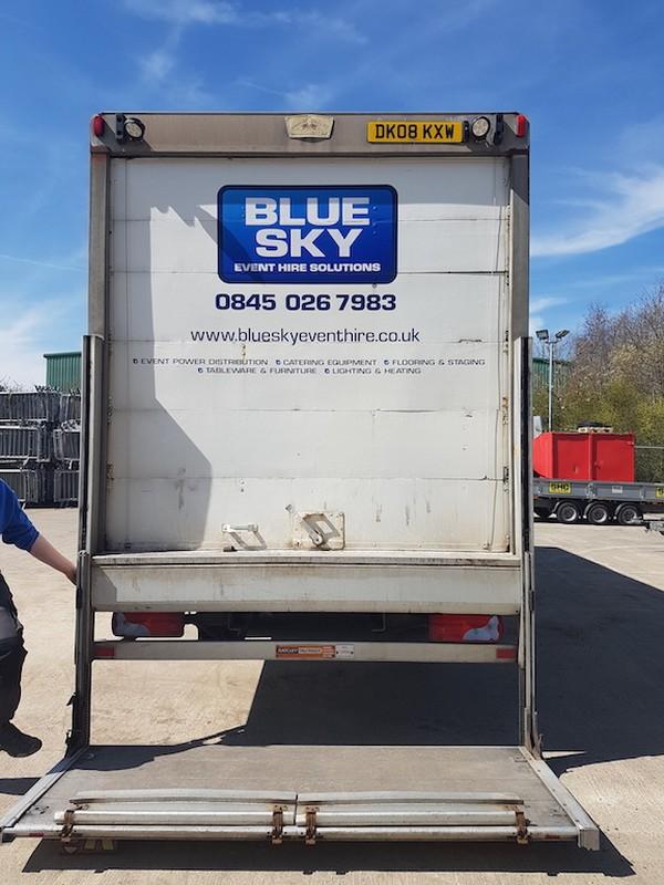 MAN 12Ton box wagon