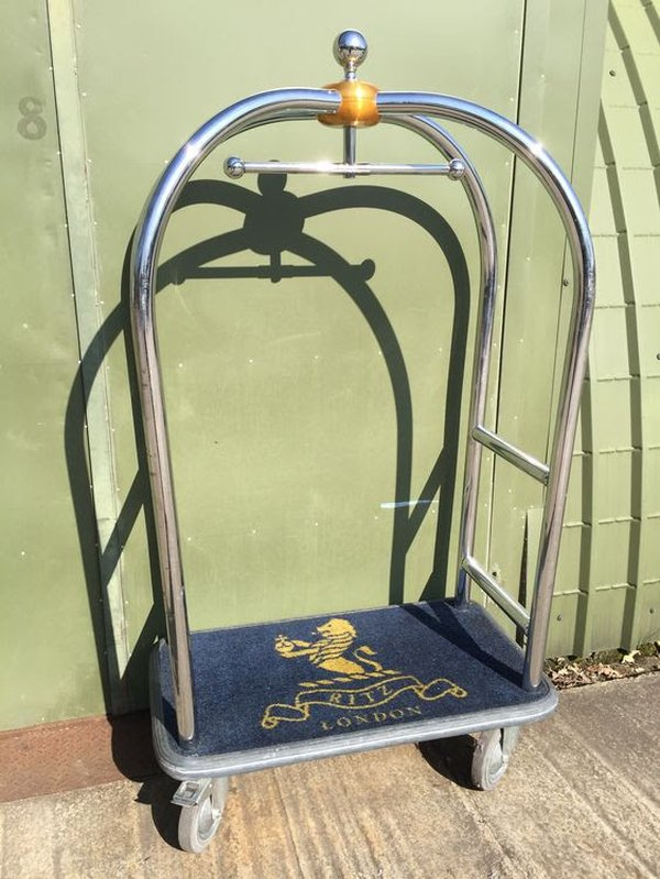 Birdcage Luggage Trolley / Cart