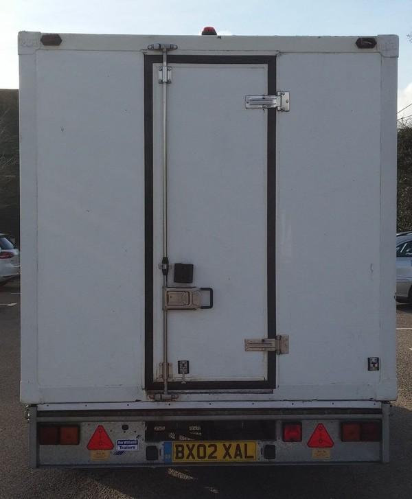 Large Refrigerated Chiller or Freezer Trailer
