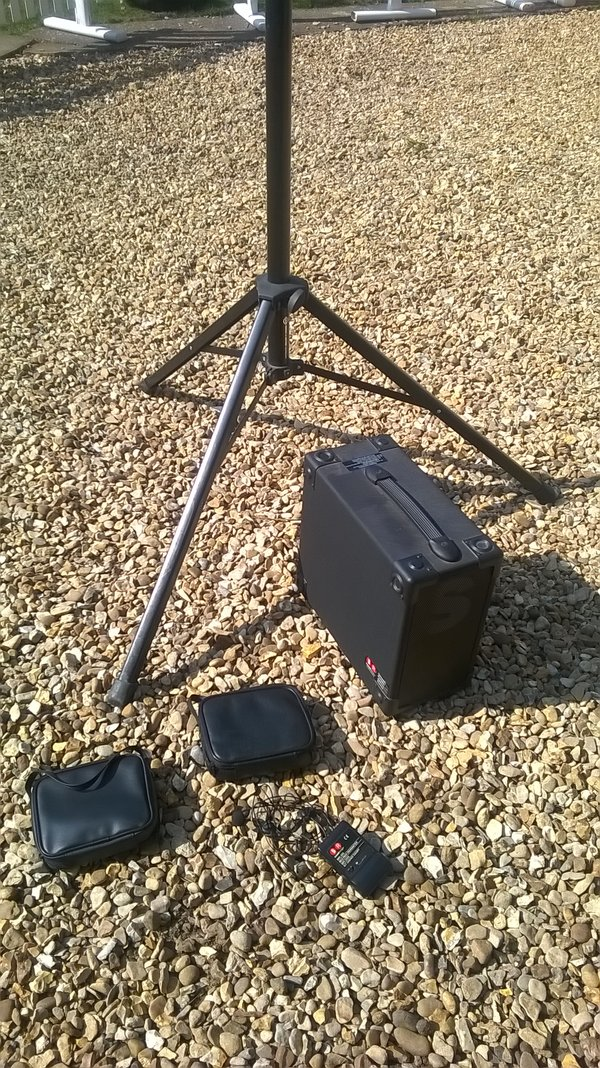 Second Hand Sound Ranger COMPACT 2C Portable Address Sound System