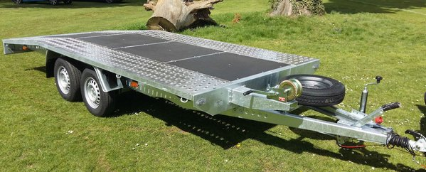 For Hire Car Transporter Trailer