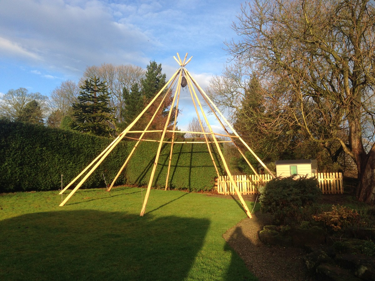 Curlew Secondhand Marquees Tipi And Wigwams 10 3m