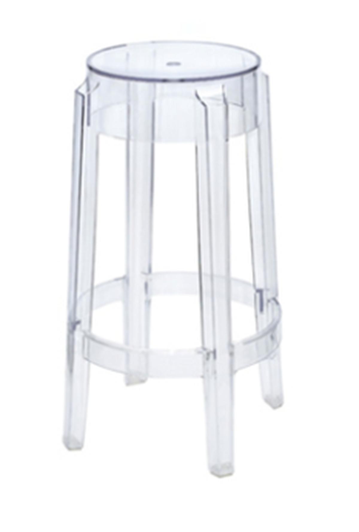Philippe starck ghost bar stool