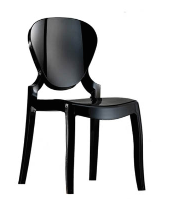 Black Queen Chair