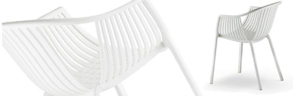 White Tatami  Chair
