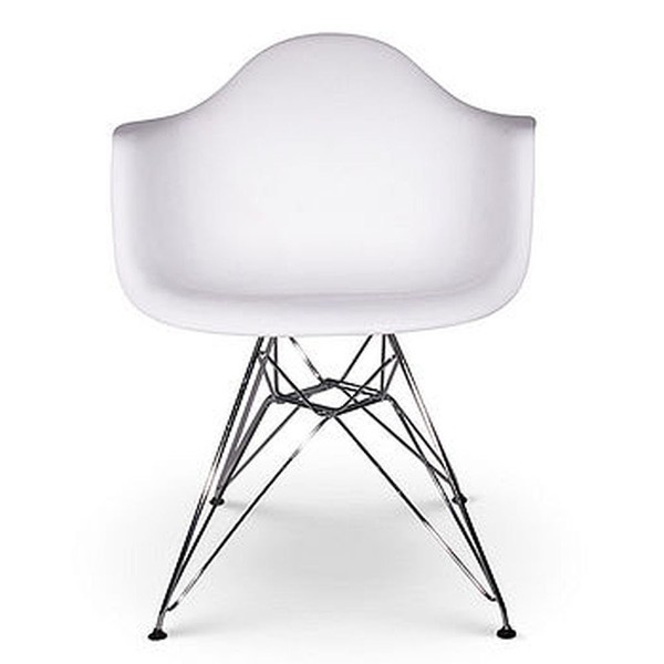 White Eames Eiffel Chairs for Sale - Used Once!