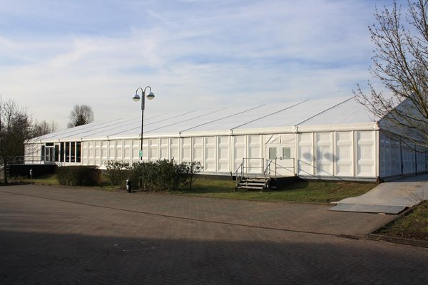 Solid wall pannels 5m bays