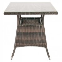 Madrid Square Outdoor Table Top - Glass Table Top  (Product Code: MAY0082)
