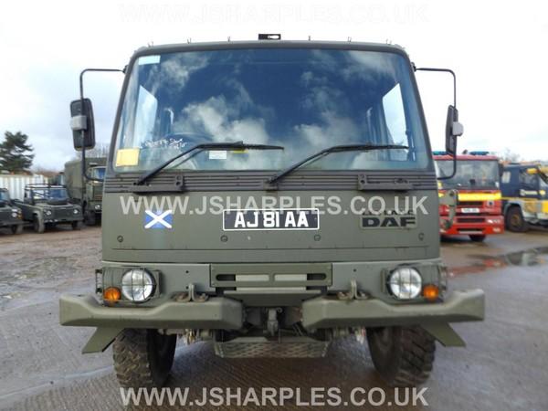 Leyland Daf 4x4 Crane Tyre Truck