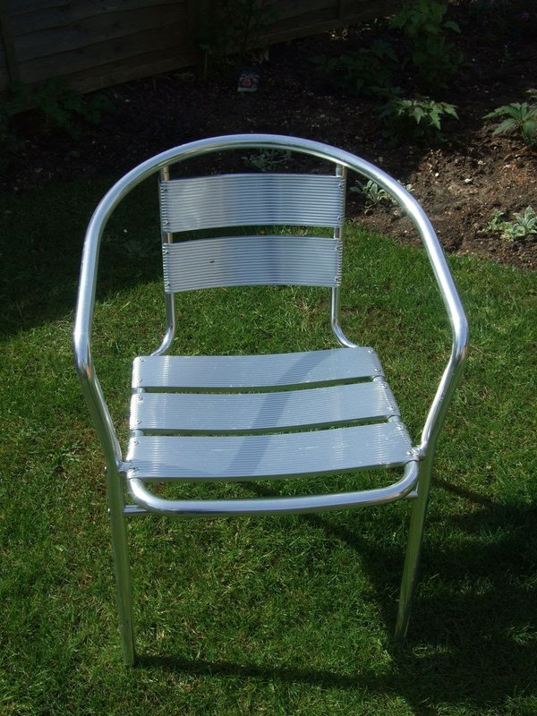 Aluminium chair