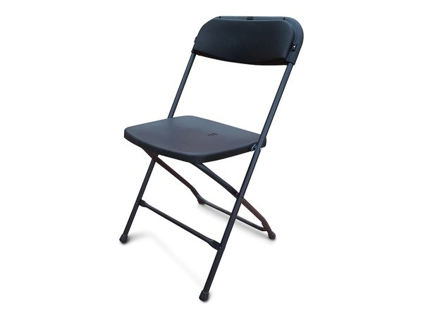Black Folding Plastic Chairs