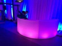 Circular LED Bar Counter