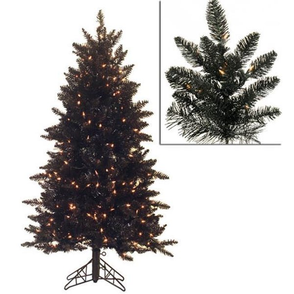 Black LED Xmas Trees
