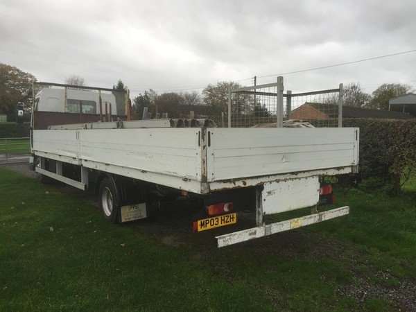 Renault Midlam 150bhp 7.5t, 24ft Long Alloy Drop Side