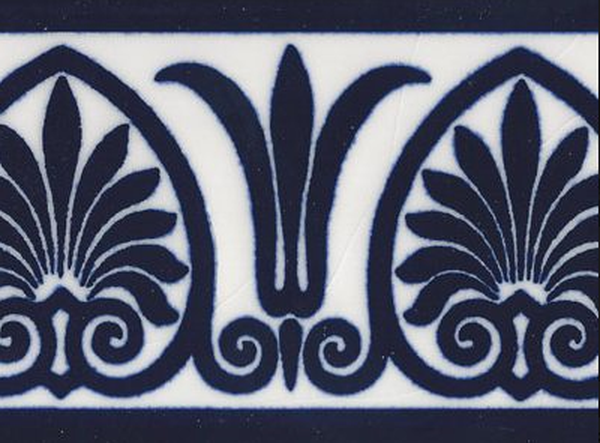 Anthemion Border Tile