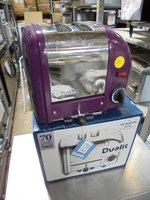 New 2 Slot Dualit Toaster (3767)