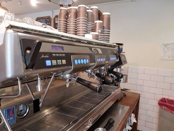 Nuova Simonelli Aurelia 3 Group (Digital Version), Official WBC Machine